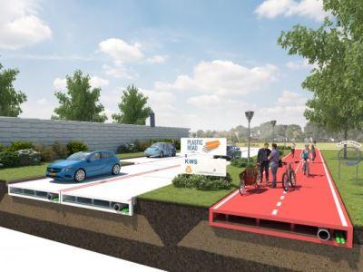 Госдума предложила строить дороги из пластмассы
